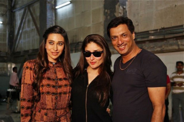 Karishma-Kapoor-Kareena-Kapoor-On-the-sets-of-Heroine