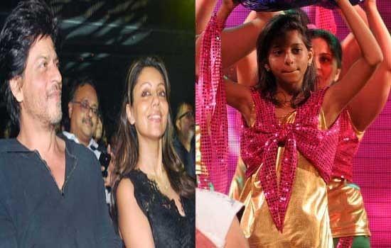 when srkgauri cheered for daughter suhana talk bollywood