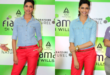 Deepika-Padukone-In-Red-Pants-At-Reliance-Store-tbwm