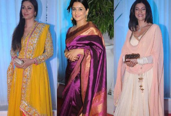 Stars Dazzle At Esha Deols Wedding Reception Talk Bollywood Vidya Balan Pictures With Husband Siddharth Roy