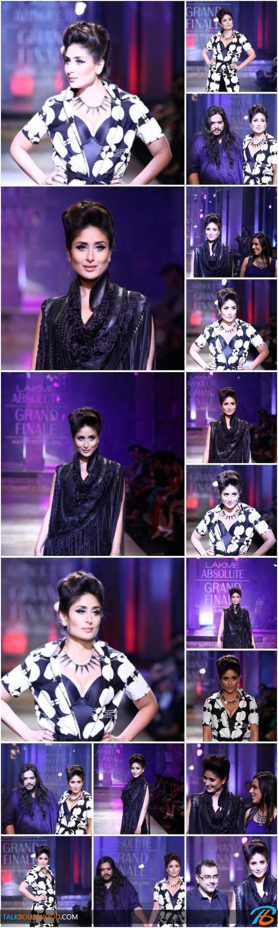 In Pics: Kareena Kapoor walks the ramp at Lakme Fashion Week