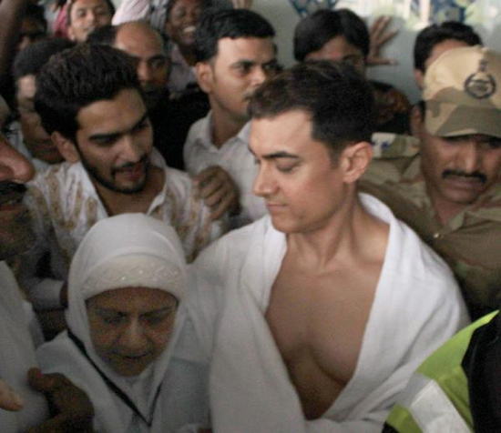 Aamir Khan talking about his Hajj experience.