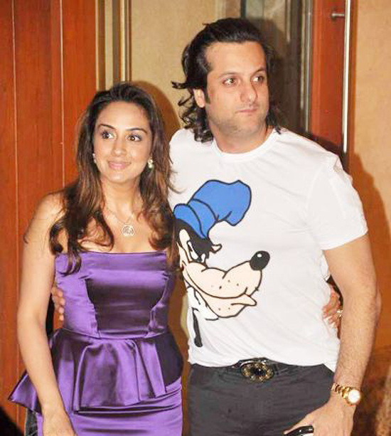 Fardeen Khan and wife expecting twins - Talk Bollywood