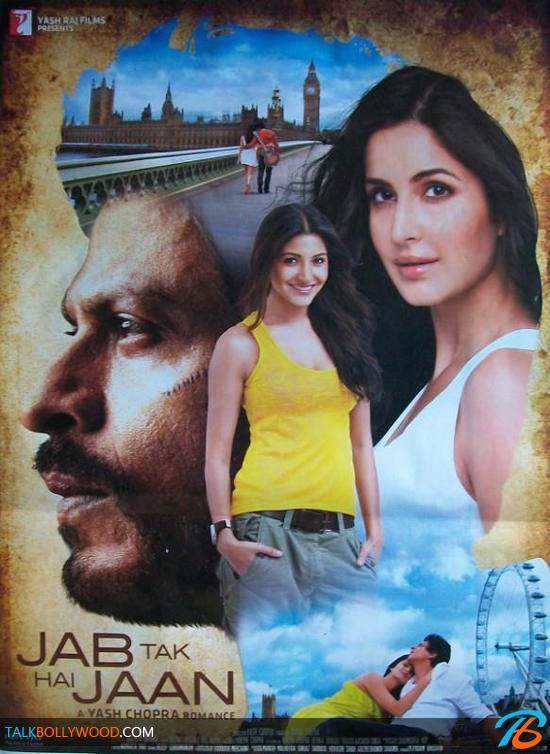 JAB TAK HAI JAAN (2.012) con SRK + Jukebox + Vídeos Musicales + Making Of + Mashup + Sub. Español  Jab-Tak-Hai-Jaan-New-Poster-1-tbwm