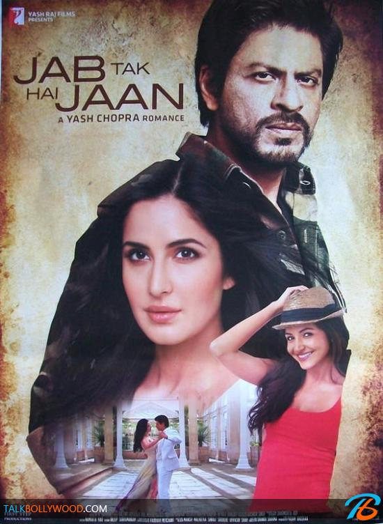 JAB TAK HAI JAAN (2.012) con SRK + Jukebox + Vídeos Musicales + Making Of + Mashup + Sub. Español  Jab-Tak-Hai-Jaan-New-Poster-2-tbwm