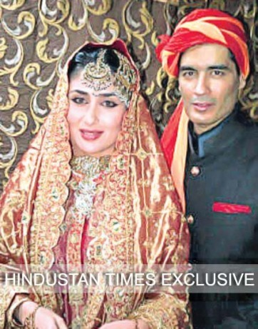 Kareena-Dressed-Up-As-A-Bride-At-Her-Wedding