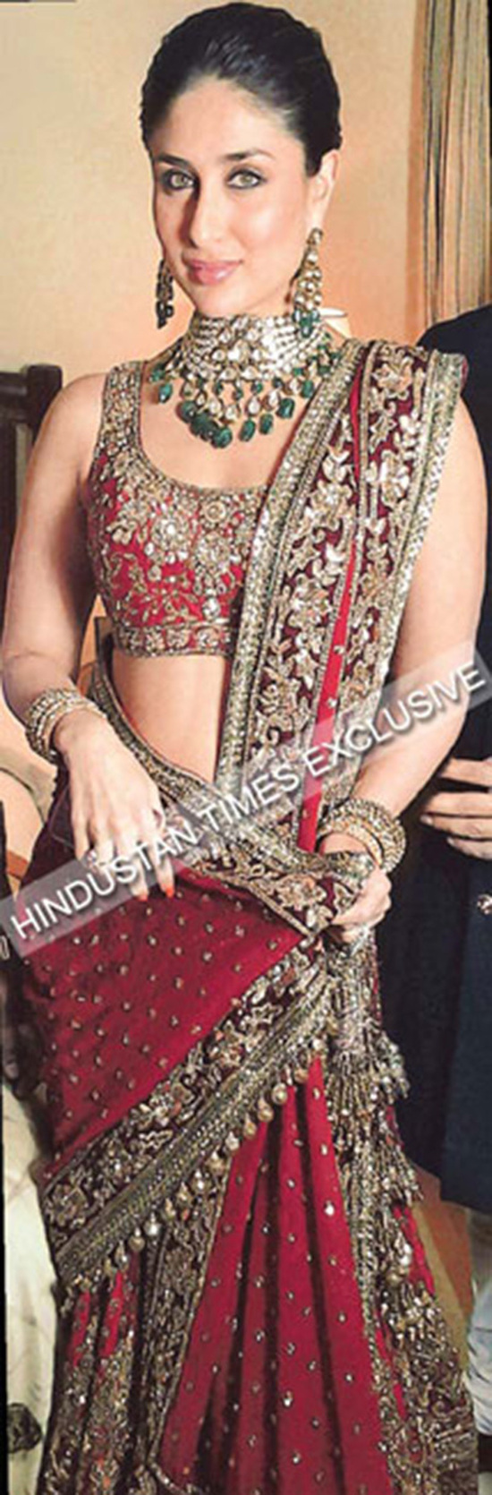 Exclusive first pictures of Kareena Kapoor as a bride! - Talk Bollywood