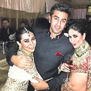 Ranbir-Karishma-Kareena-At-Kareena-Wedding
