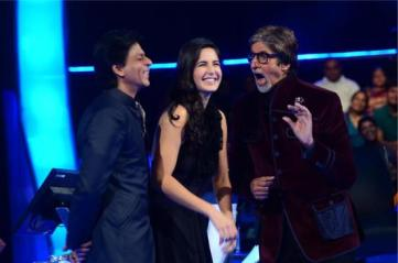 SRK-Katrina-With-Amitabh-On-KBC-2