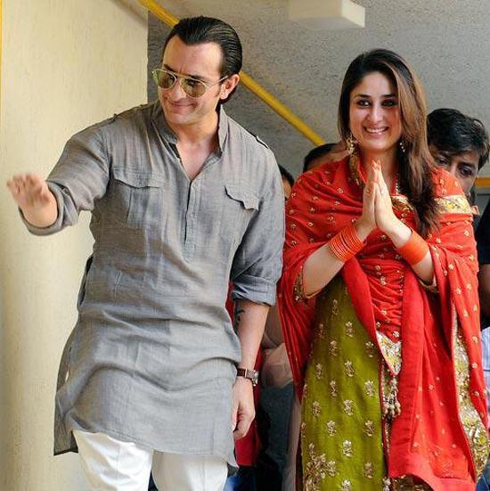 Saif kareena marriage photographs on canvas