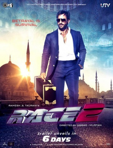 Race 2   First Look Poster  Dabangg 2 First Look Poster