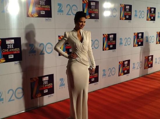 Esha Gupta-At-Zee Cine Awards-2013