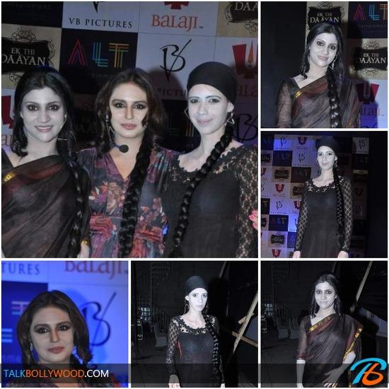Konkona Sen Sharma-Huma Qureshi-Kalki Koechlin-At-Ek Thi Daayan Launch-tbwm