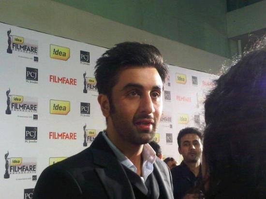 Ranbir-Kapoor-At-Filmfare Awards 2013