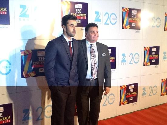 Ranbir Kapoor-At-Zee Cine Awards-2013