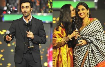 Ranbir-Vidya-Win-Filmfare-Awards-2013