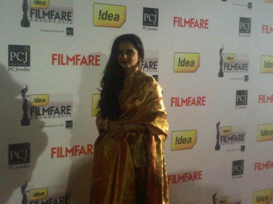 Rekha-Filmfare Awards 2013