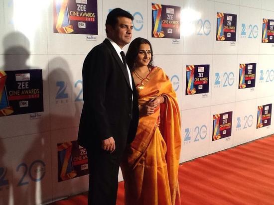 Vidya Balan-At-Zee Cine Awards-2013