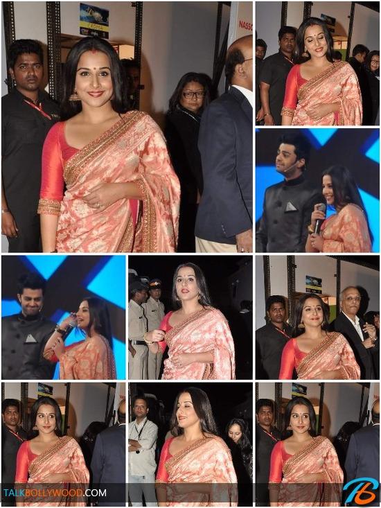 Vidya Balan-First-Appearance-After-Her-Wedding-At-Umang-Police-Show-tbwm