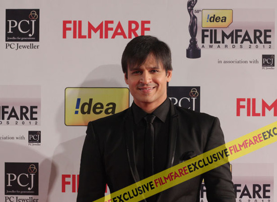 Vivek-Oberoi-At-Filmfare-Awards-2013
