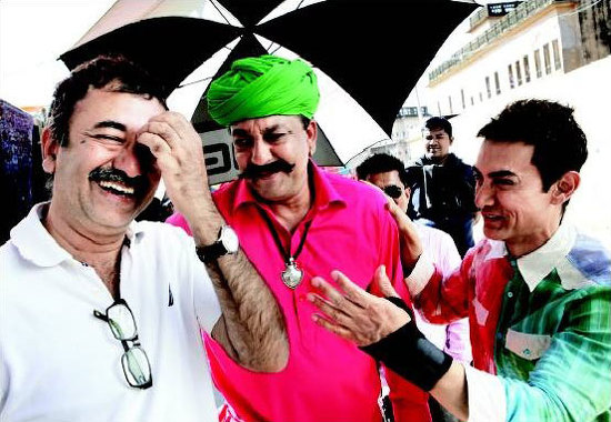 Aamir-Khan-Sanjay-Dutt-On-Sets-Of-PK
