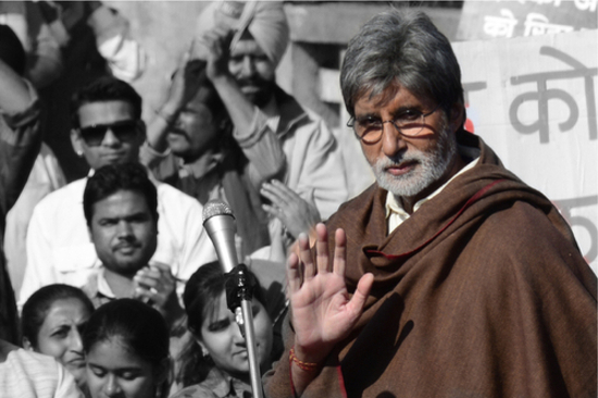 Amitabh-Bachchan-On-Sets-Of-Satyagraha