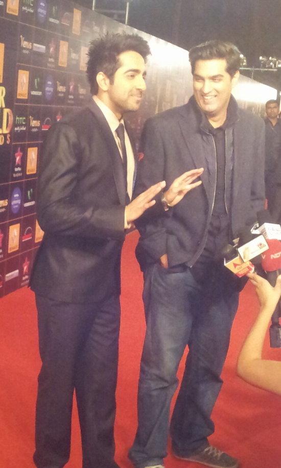 Ayushmann-Khurrana-At-Star-Guild-Awards-2013