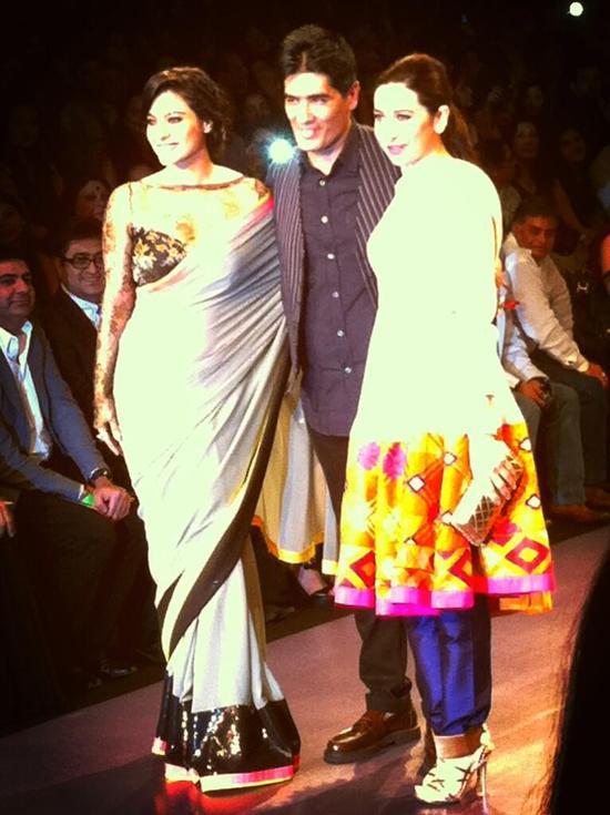 Kajol-Karishma-Kapoor-For-Manish-Malhotra-LFW-2013
