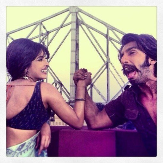 Priyanka-Chopra-Ranveer-Singh-On-Sets-Of-Gunday