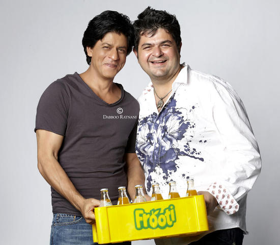 SRK-Frooti-Picture