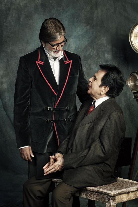 Amitabh-Bachchan-Dilip-Kumar-Filmfare-Photoshoot
