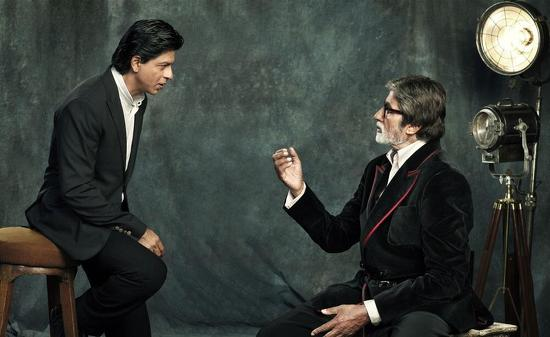 SRK-Amitabh-Bachchan-Filmfare-100-Years-Cinema-Photoshoot