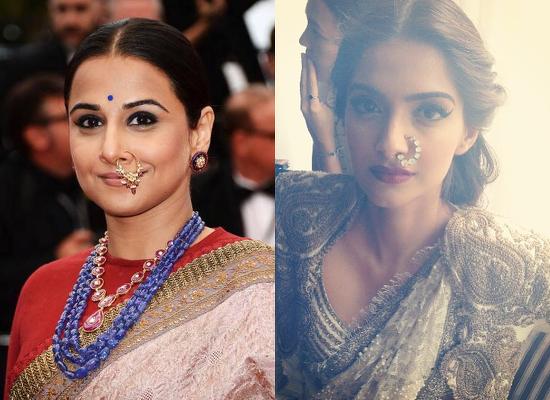 Vidya-Balan-Sonam-Kapoor-Cannes-2013-Nose-Ring
